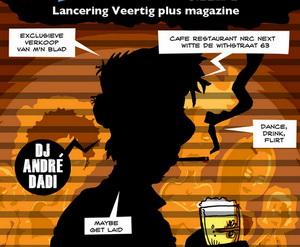 Stripboek over Rotterdams uitgaansleven
