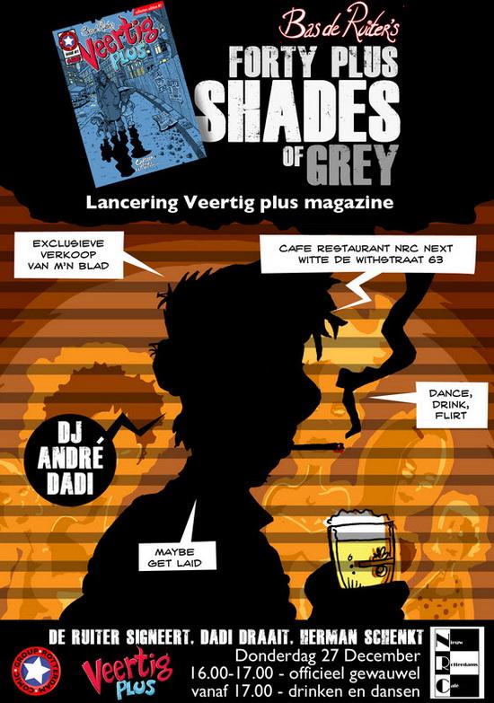Bas de Ruiter-Stripboek over Rotterdams uitgaansleven