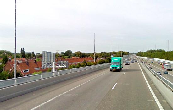 Luchtvervuiling A13 Rotterdam al acht maanden te hoog