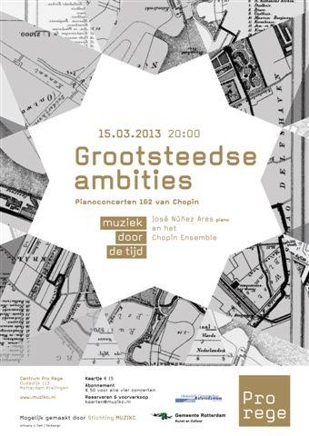 Postertje Grootsteedse ambities