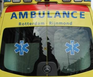 Ambulance uitgelicht