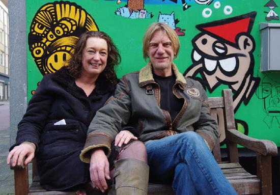 Jan Willem van der Linden en Marion Herben