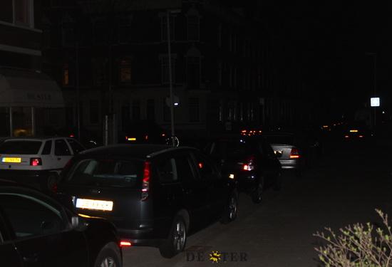 Kralingen straatverlichting uit