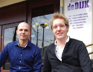 Marco Bouman en Arno Bonte debatteerden over gebiedsbestuur