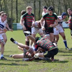 Rotterdamse Studenten Rugby Club gepromoveerd!