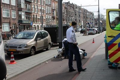Scooter ongeval Oudedijk