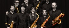 Saxofoonorkest Vento do Norte in Rotterdam