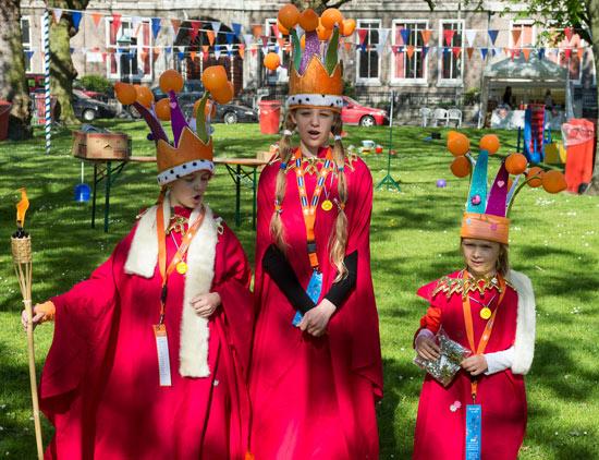 Kroningsdag in Kralingen!