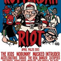 Eerste editie van Rotterdam Riot