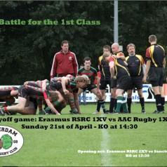 Studenten Rugbyclub naar de eerste klasse?