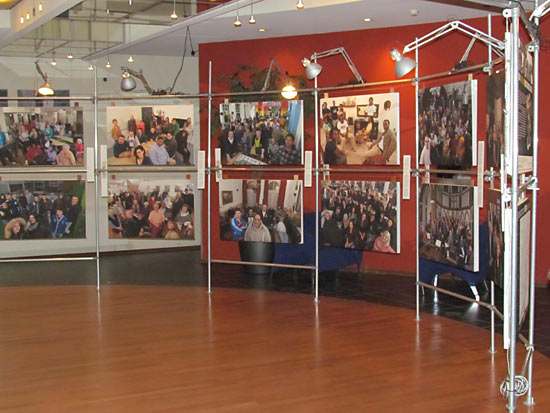 Rotterdamse fototentoonstelling De Noorderlingen bij Zadkine