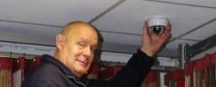 Eerste mobiele camera bij ondernemer geplaatst Frits Ruysstraat