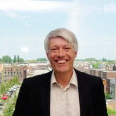 De eerste werkdag van de nieuwe deelraadsvoorzitter Wim van Heemst