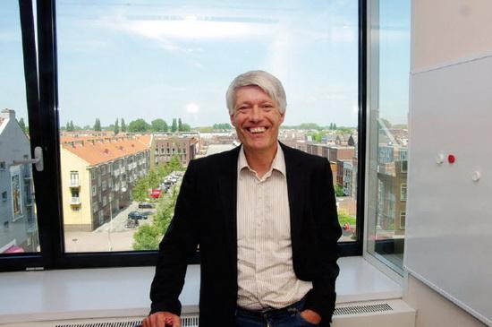 Eerste werkdag van de nieuwe deelraadsvoorzitter Wim van Heemst