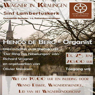 Wagner in Kralingen – improvisaties over 'De Ring' door Henco de Berg
