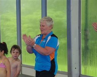 Het laatste 'optreden' van zwemlerares Wil van Cortenberghe