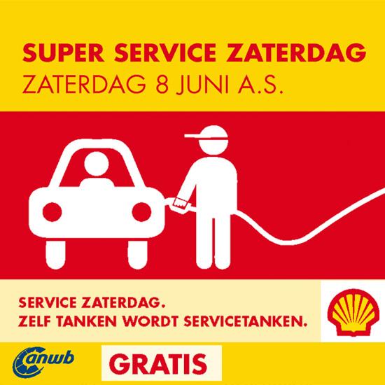 8 juni Super service zaterdag