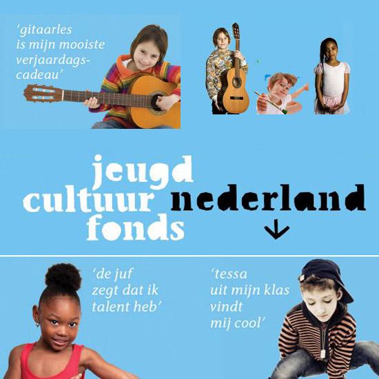 Jeugdcultuurfonds is er voor kinderen en jongeren