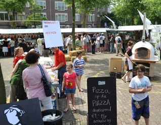 Maandelijks Oogstmarkt op het Noordplein