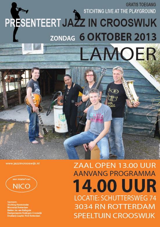 Jazz in Crooswijk oktober