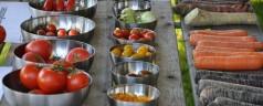 Najaars festival 'De eetbare Tuin' in Trompenburg