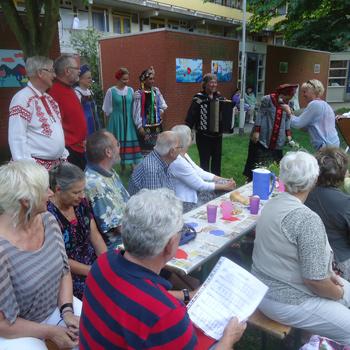 Russisch verzoeningsfeestje bij Kunstroute Kralingen