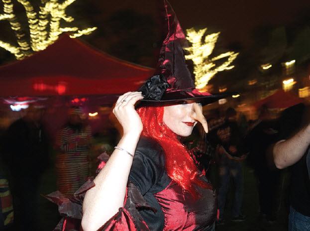 Halloween wandeltocht