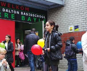 Uitnodiging met ballonnen