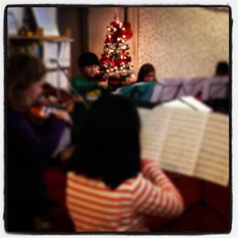 Pro Rege: jaarlijkse kerst voorspeelmiddag