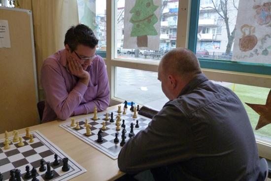 Hubregtse wint Kralings kerstschaaktoernooi