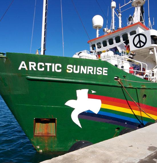 Finissage met voordracht Greenpeace in De Witte Slagerij