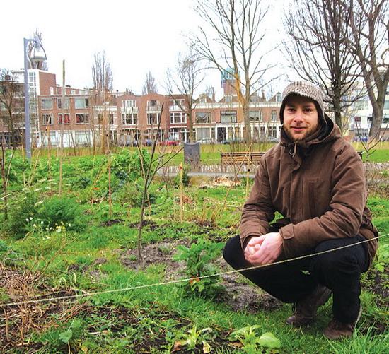 Max de Corte: 'een band te hebben met je voedsel, dat is waar mensen naar terug verlangen'.