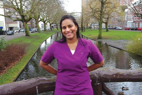 Prescilla Redan vestigde zich in oktober 2013 in Crooswijk. Inmiddels voelt ze zich daar helemaal thuis.