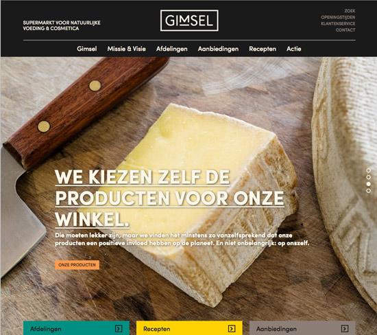 Gimsel heeft eigen website