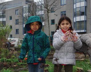 Wijktuin De Esch, voor en door bewoners