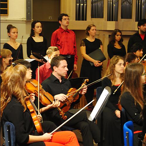 Het Bach ensemble op zaterdag 8 maart