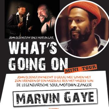 John Oldenstam sings Marvin Gaye – What's Going On