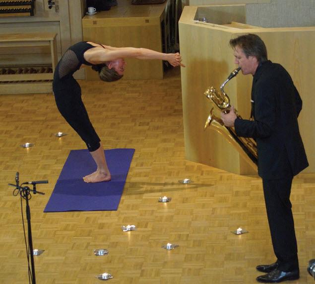 Bach en yoga