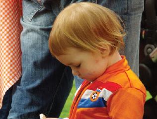 Koningsdag op 'Oranjeplein'