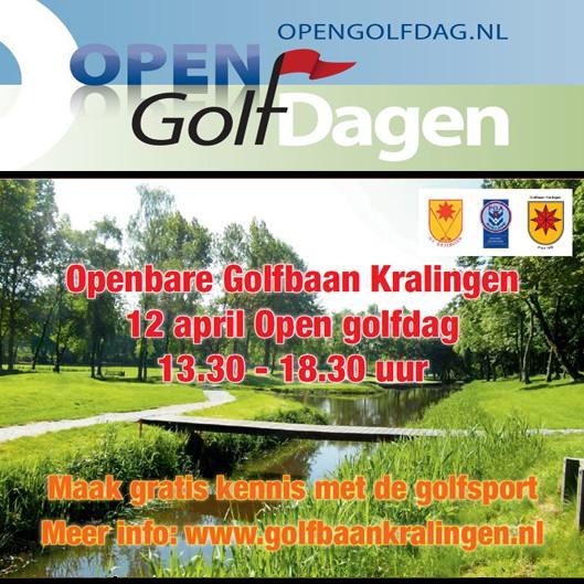 Open Golfdag op Openbare Golfbaan Kralingen