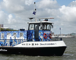 Waterbus babyshower op 14 april