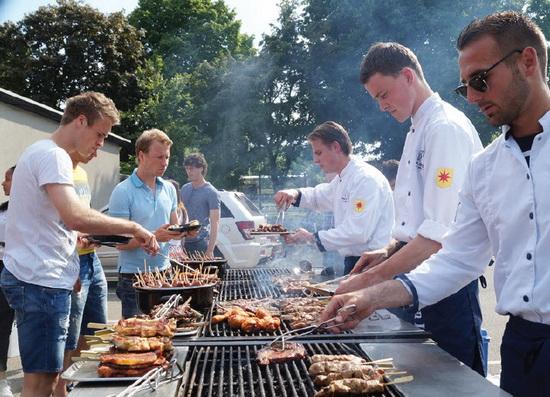 Eredivisie BBQ bij Excelsior