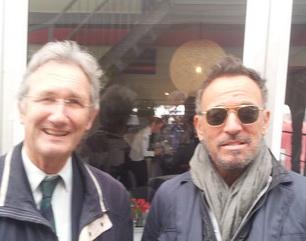 Bruce Springsteen gespot op het CHIO