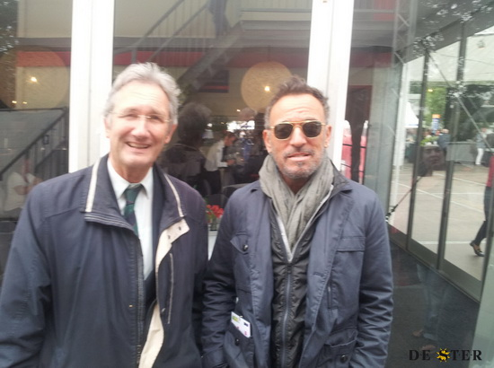Jacques la Croix en Bruce Springsteen op het CHIO