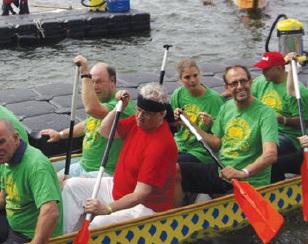Tweede Drakenboot Festival op Kralingse Plas