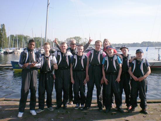Rijnmondse jongeren presteren op de Kralingse Plas