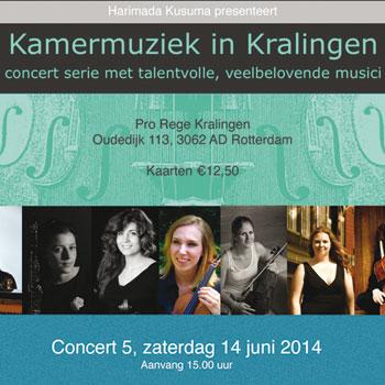 Kamermuziek in Kralingen – juni 2014