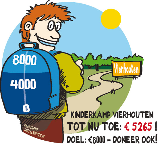 Kinderkamp KC: over de helft!