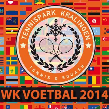 WK voetbal kijken bij Tennispark Kralingen
