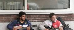 Argentijnse globetrotters op de stoep bij De Ster